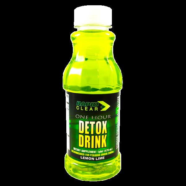 Rapid clear lemon lime detox drink for Cocktail detox