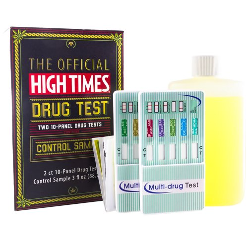 High Times 10 Panel Home Synthetic Urine
