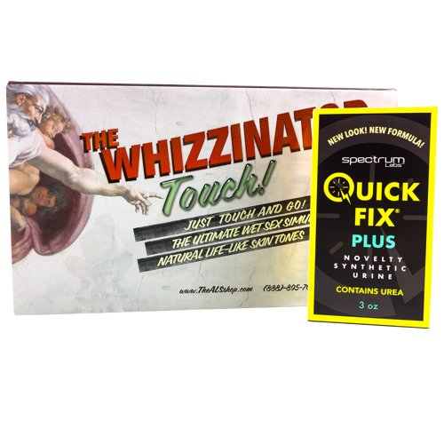 Quick Fix Plus Whizzinator Value Pack
