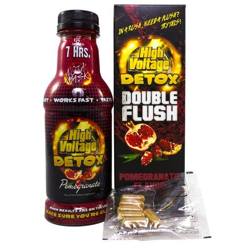High Voltage Detox Double Flush Drink